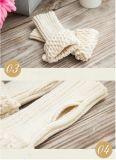 Customed 새로운 디자인 아크릴 뜨개질을 한 Mitten 장갑 최신 판매