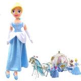 Brinquedo de peluche personalizado da boneca da menina americana