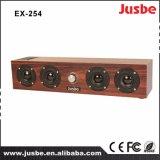 Ex254 China Fornecedor preço razoável alto-falante de madeira para sala multimídia