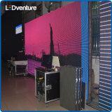 visualización de LED al aire libre de pH4.81mm para los partidos de alquiler de los conciertos de los acontecimientos impermeables