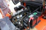 carrello elevatore a forcale di 4ton LPG/Gasoline con il motore cinese Gq-4y, assistente tecnico Avaiable da assistere oltremare