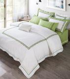 Высокое качество домашнего текстиля постельное белье роскошные постельные принадлежности вышивкой,