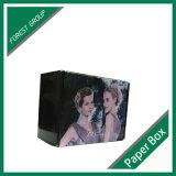 Boîte en carton ondulé de prolonge de cheveu empaquetant en gros
