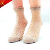Frauen-Sommer-Abnützung-dünne Silk Socke