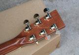 Guitarra acústica de Hanhai Music/41 '' con el embutido de los trastes de la flor (D45)
