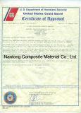 Grille phénolique moulée / Certificat Uscg / Grillage FRP & GRP