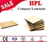 revestimiento laminado de la pared de 10m m HPL /Compact