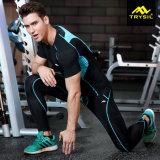 Спорты одевают удобная и туго эластик установленные для людей