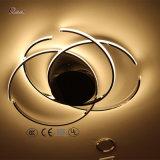Moderne einfacher Entwurfs-Metalldecken-Lampe für Dekoration