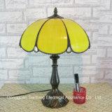 UL Listed Lampe Tiffany À La Main, Lampe De Table, Lampe De Décoration