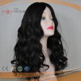 Toupee natural del estilo de la onda del pelo humano (PPG-l-01893)
