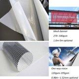 La venta al por mayor china para rueda para arriba el material de la impresión del PVC Digital