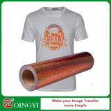 QingyiのTシャツのための大きい品質のホログラムのビニールの熱伝達