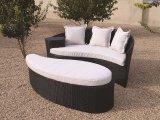 피지 등나무 옥외 정원 침대 겸용 소파