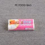 HDPE/LDPE/PEのプラスチック使い捨て可能な食糧農産物袋