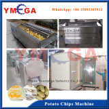 Automatische Arbeitsmanioka-/Potato/-Banane/Banane-Chip-aufbereitende Maschine