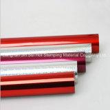 Clinquant d'estampage chaud de laser de couleurs pour le plastique de papier