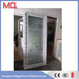 Водоустойчивая дверь ванной комнаты PVC матированного стекла