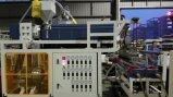 Máquina de alta velocidad de la película de estiramiento de la capa doble 1000m m