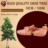Arbre à chaussures en cèdre bon marché en bois naturel réglable et réglable, gardien de chaussures