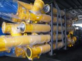 транспортер винта сверла 273mm Sicoma гибкий для конкретного дозируя завода