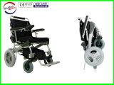 Sedia a rotelle qualità dorata del motore di migliore, pieghevole elettrici e peso leggero e Portable