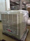 Непосредственно на заводе поставщика промышленного охладителя нагнетаемого воздуха при испарении воды охлаждения блока охлаждения