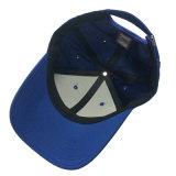 帽子を競争させる青6のパネル3Dの刺繍の野球帽