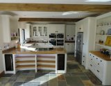 Modernes festes Luxuxholz, das Küche-Schränke Prima herstellt