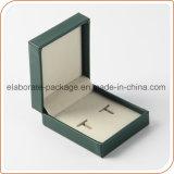 Коробка серьги миниой кожаный коробки ювелирных изделий Handmade оптовая