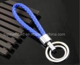 De nieuwe Met de hand gemaakte Sleutelring van de Kabel van de Douane Eenvoudige Ontwerp Gevlechte