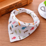 New Design Fashion Colorful Baby Bandana Bibs 100% Coton Bio