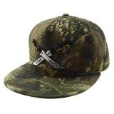 Custom Tapa de Verano de la moda de alta calidad de Panel Plano Proyecto de Ley 5 Bordado Snapback Hat