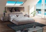 寝室の家具の革柔らかいベッド(SBT-5808)
