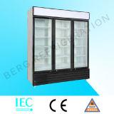 Refrigerador de escaparate de cristal de una sola puerta con Ce