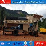 Китай Gold Trommel добычи золота на экране машины (KDTJ-50)