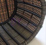 Im Freienbalkon-Wohnzimmer-Abdeckung außer Platz-kreativer Kombination von acht Sets des PET Rattan-Sofas