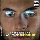 2017 Interactive LED piscando Eye Chicotadas para Club Halloween mascarada