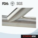Edelstahl-Rohrfitting-gesundheitlicher seitlicher Typ T-Stück (JN-FT3004)