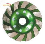 Diamond сегментированный Turbo чашка шлифовального круга