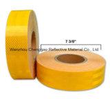 Großhandelshersteller-gelbe anhaftende Sicherheits-reflektierendes Band für Fahrzeug