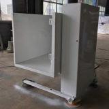 Un elevatore verticale esterno poco costoso della piattaforma della sedia a rotelle accessibile dell'uomo
