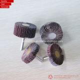 Roda de tampa de aço inoxidável ou máquina roda borboleta (tampa do eixo da roda com abrasivos)