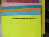 Kundenspezifisches Funkeln druckte geprägtes buntes EVA-Schaumgummi-Blatt