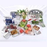 Контейнер алюминиевой фольги домочадца для упаковки еды