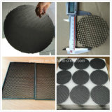 Round Shape Black Aluminium Honeycomb Core Louver