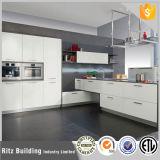 Gabinete de cozinha de alto nível de design moderno de estilo europeu