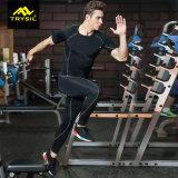 Os esportes serem confortável e firmemente o elástico ajustados para homens