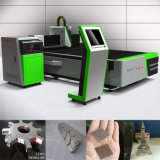 Hoja de metal del CNC de la máquina de corte laser de la tela con Auto CAD Software