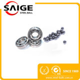 1.2mm para a esfera de aço de cromo da elevada precisão dos rolamentos somente